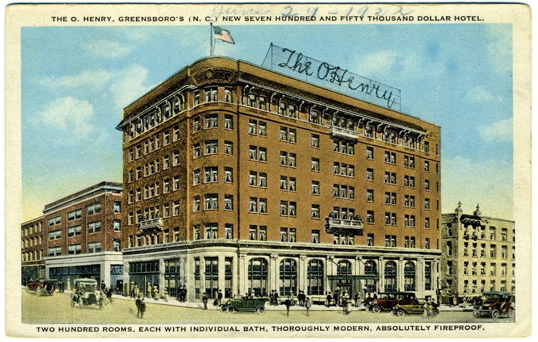 O. Henry Hotel, Greensboro, Guilford County