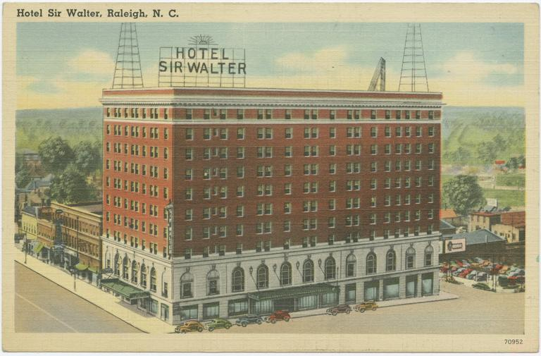Sir Walter Hotel, Raleigh, Wake County