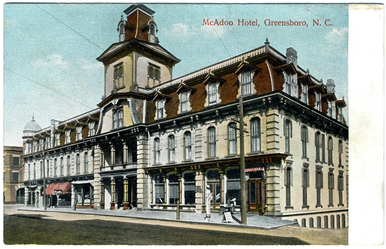 McAdoo Hotel, Greensboro, Guilford County