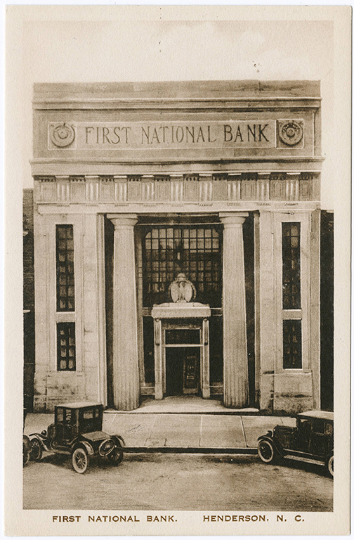 First National Bank of Henderson, Henderson, Vance County