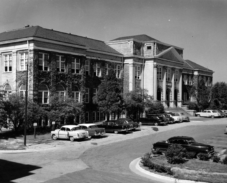 Patterson Hall, Raleigh, Wake County