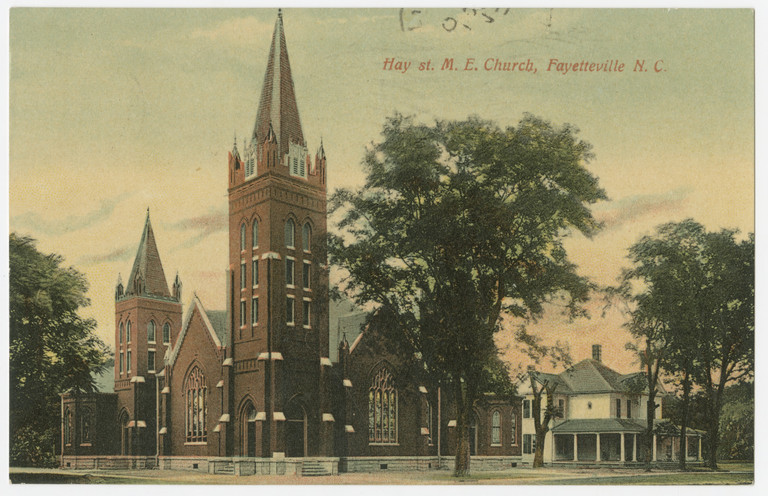 Hay St. M.E. Church, Fayetteville, Cumberland County