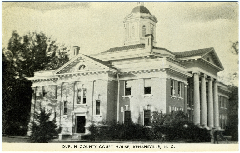 Duplin County Courthouse, Kenansville, Duplin County