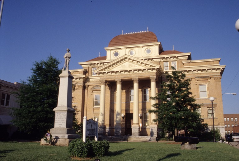 Former Iredell County Courthouse, Statesville, Iredell County