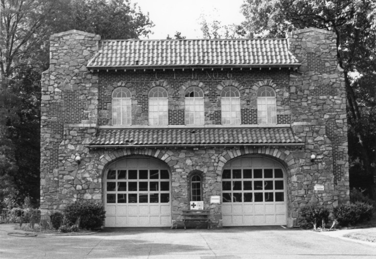 Charlotte Fire Station No. 6, Charlotte, Mecklenburg County, North Carolina