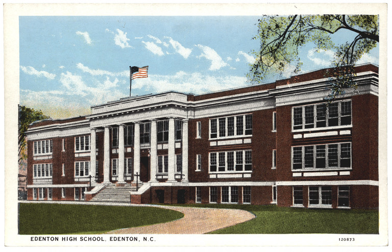 Edenton High School, Edenton, Chowan County