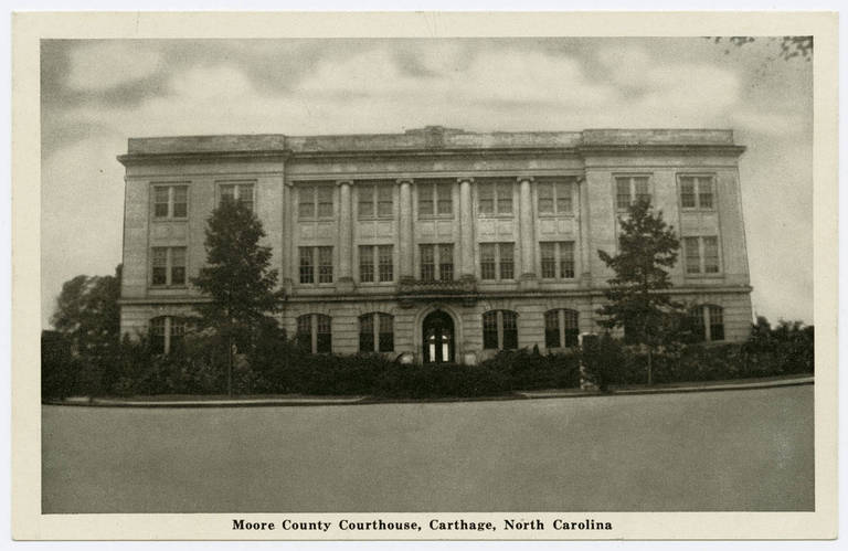 Moore County Courthouse, Carthage, North Carolina