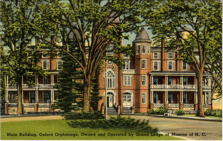 Main Building, Oxford Orphanage, Oxford, Granville County