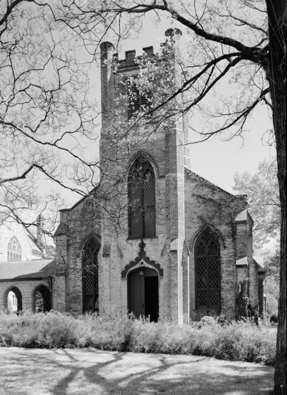 Chapel of the Cross, Chapel Hill, Orange County (HABS NC,68-CHAP,1-1)