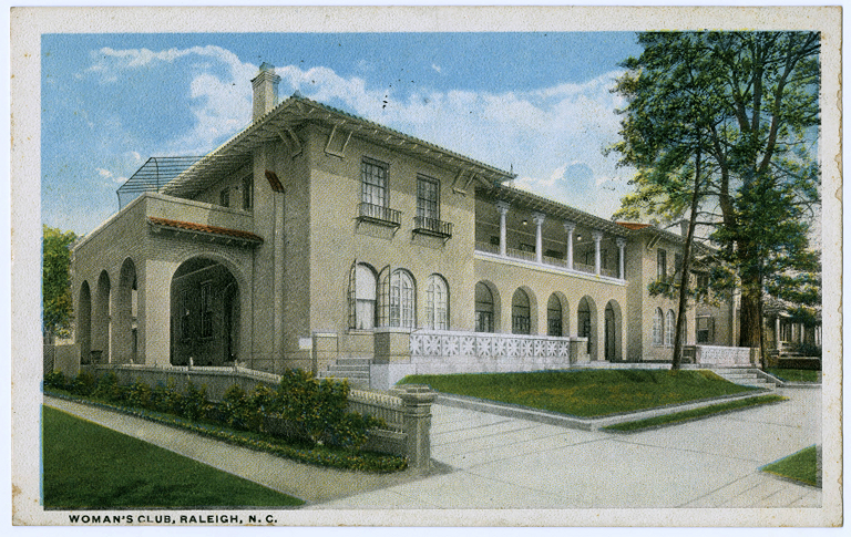 Woman's Club, Raleigh, Wake County