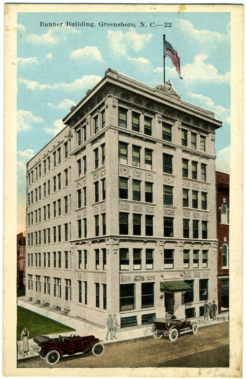 Banner Building, Greensboro, Guilford County