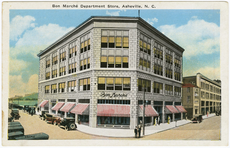 Bon Marche Department Store, Asheville, Buncombe County