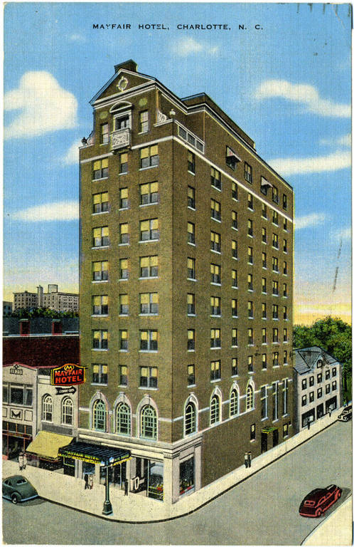 Mayfair Hotel, Charlotte, Mecklenburg County