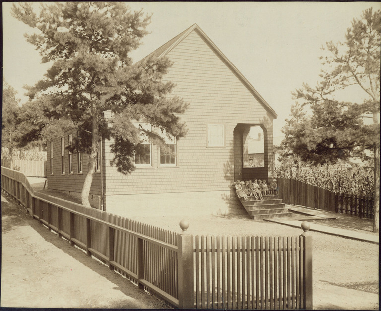 Asheville Free Kindergarten, Schoolhouse #2, Asheville, Buncombe County