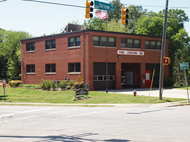 Raleigh Fire Station No. 6, Raleigh, Wake County