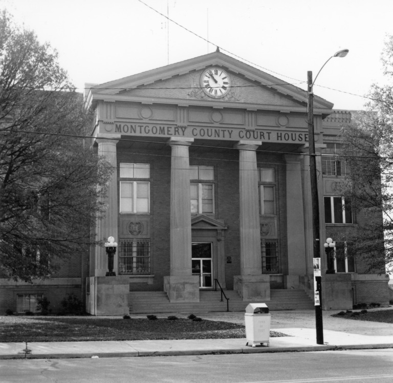Montgomery County Courthouse, Troy, Montgomery County, North Carolina