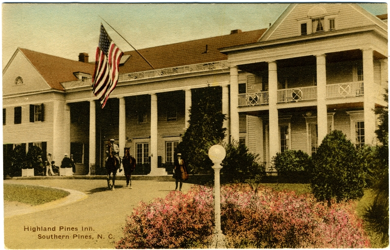 Highland Pines Inn, Southern Pines, Moore County
