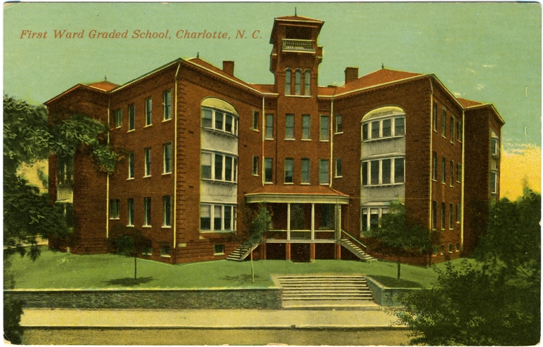 First Ward Graded School, Charlotte, Mecklenburg County