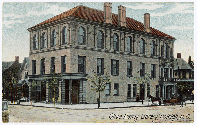 Olivia Raney Library, Raleigh, Wake County