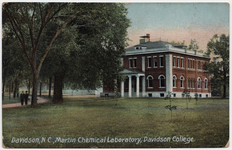 Martin Chemical Laboratory Building, Davidson College, Davidson, Mecklenburg County