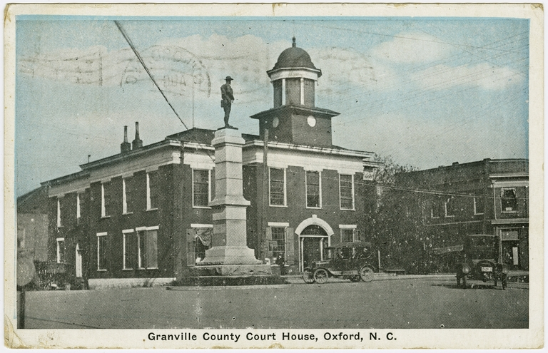 Granville County Courthouse, Oxford, Granville County